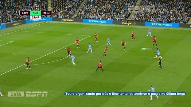 Movimentação de Aguero, chegada de laterais e pressão na bola: DataESPN analisa jogo apoiado do City de Guardiola