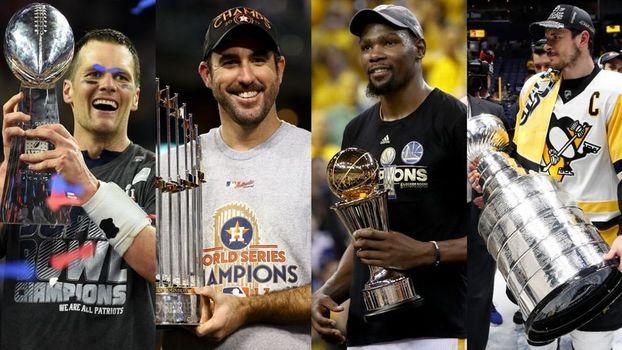 Virada dos Patriots, Warriors e mais: relembre o ano nos esportes americanos