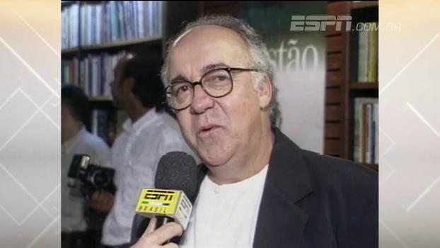 Há 20 anos, Tostão estreava no campo da literatura em evento que reuniu todo tipo de gente