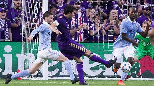 Kaká faz lindo gol, mas Orlando City empata em casa com o Kansas