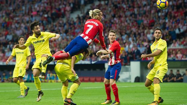 LaLiga: Gols de Atlético de Madri 1 x 1 Villarreal