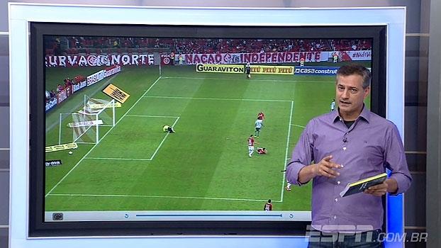 Pênalti não marcado e gol anulado; Sálvio analisa as polêmicas de Internacional x Juventude