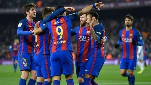 Copa do Rei - quartas de final (volta): Gols de Barcelona 5 x 2 Real Sociedad