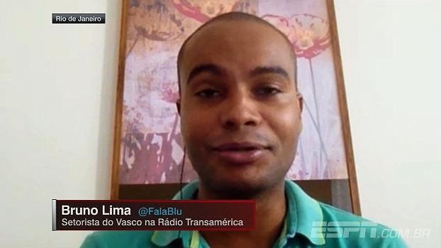 Bruno Lima fala das negociações vascaínas: 'Perdeu-se um pouco da pressa no quesito contratações'