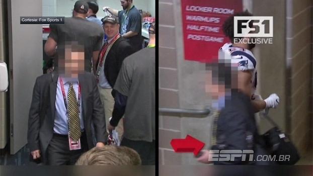 Vídeo divulgado pode identificar suspeito de roubar camisa de Brady após Super Bowl; veja
