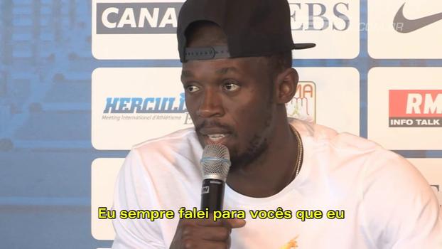 Usain Bolt explia motivo da aposentadoria e brinca: 'Disseram que eu vou ficar barrigudo em 2 anos'