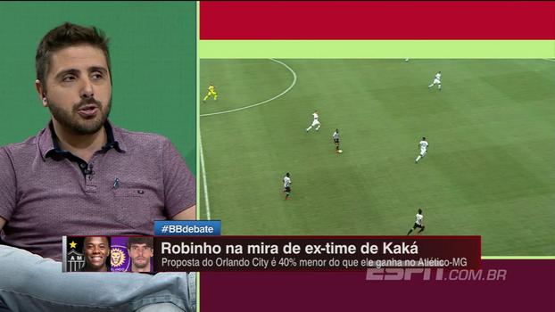 Sai Kaká, entra Robinho? Orlando City está em contato com o atacante do Atlético-MG, diz Nicola; entenda