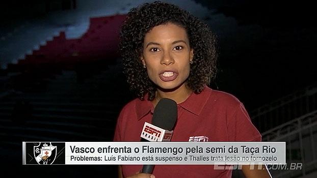 Dúvida no ataque e busca por substituto de Luan: Débora Gares conta o dia do Vasco
