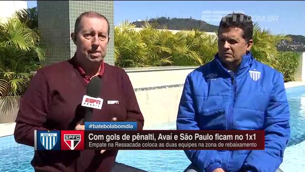 De Florianópolis, Edu Affonso atualiza negociação de renovação entre Renan Ribeiro e São Paulo