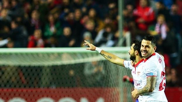 Veja os melhores momentos da vitória por 2 a 1 do Sevilla sobre o Valencia 3aedf6121bb9c