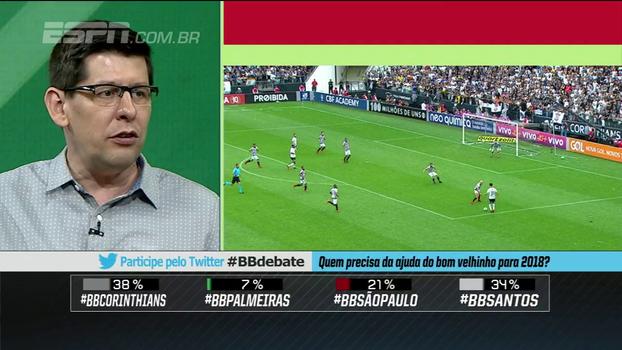 Celso Unzelte: 'Se o Corinthians não se reforçar, briga com o Santos como quarta força'
