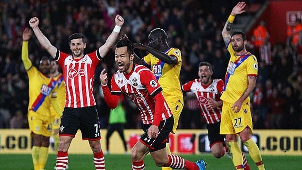 Assista aos gols da vitória do Southampton sobre o Crystal Palace por 3 a 1!