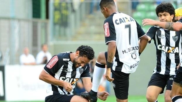 Mineiro: Gols de Atlético-MG 2 x 0 URT