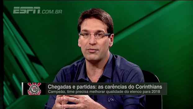 Arnaldo espera Corinthians gastando em reforços: 'Chegou no limite do limite do atual elenco'