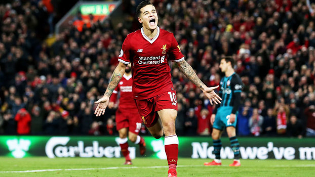 Premier League: Gols de Liverpool 3 x 0 Southampton