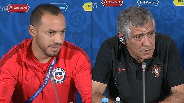Volante do Chile: 'Eles tem Cristiano Ronaldo, nós temos Vidal e Sánchez