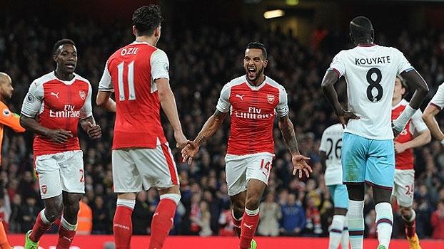 Premier League: Melhores momentos de Arsenal 3 x 0 West Ham