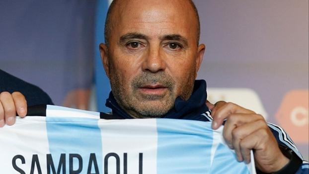 Sampaoli fala em 'realização de um sonho' e diz que Messi está motivado