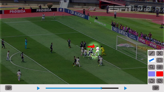 Para Sálvio, São Paulo teve gol legal anulado no clássico; veja