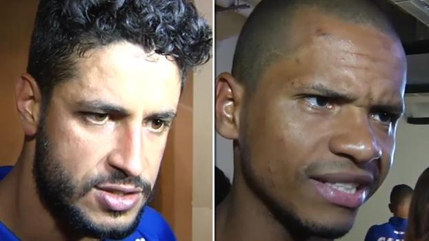 Para Edimar, Cruzeiro merecia ter vencido; Léo vê 'jogo muito igual'
