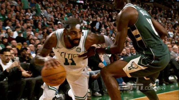 Finta de LeBron, toco de Embiid, controle de Kyrie e mais; jogadas da semana da NBA em super câmera lenta