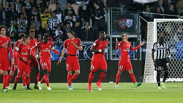 Francês: Gols de Angers 0 x 2 Paris Saint-Germain