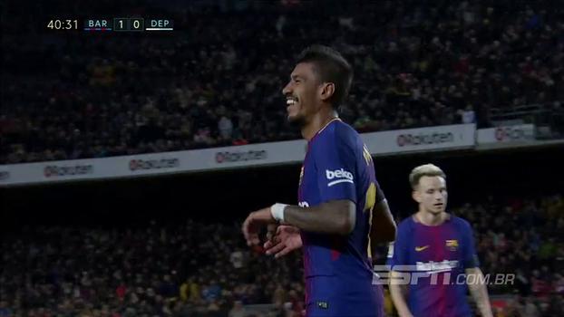 Assista aos melhores momentos de Barcelona 4 x 0 Deportivo La Coruña