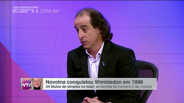 'O tênis perde um grande nome'; Meligeni presta homenagem e elogia Jana Novotna
