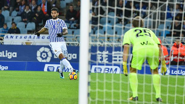 Veja os gols do empate entre Girona e Real Sociedad por 1 a 1 por LaLiga!