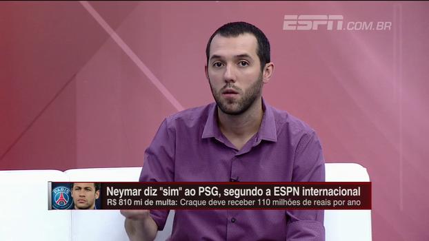 Gustavo Hofman fala sobre 'campanha' de jornais espanhóis por decisão de Neymar e avalia possível negociação