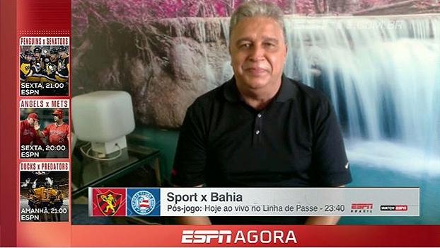 Léo Medrado traz tudo da decisão da Copa do Nordeste entre Bahia e Sport