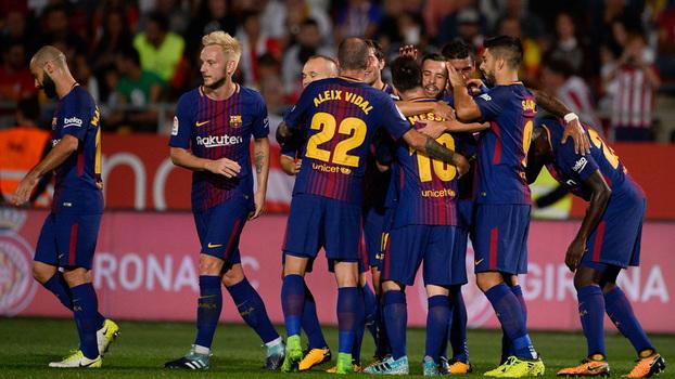 Veja os gols da vitória do Barcelona sobre o Girona por 3 a 0 por LaLiga!