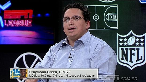 DPOY? ESPN League destaca números de Draymond Green e Bulgarelli elogia: 'É o coração dos Warriors'