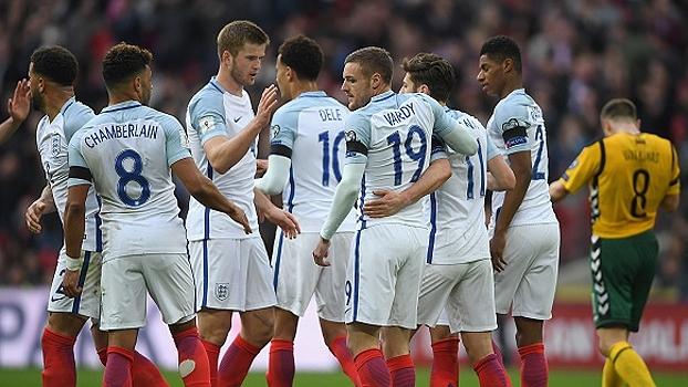 Veja os gols de Inglaterra 2 x 0 Lituânia, pelas Eliminatórias Europeias para a Copa do Mundo 2018