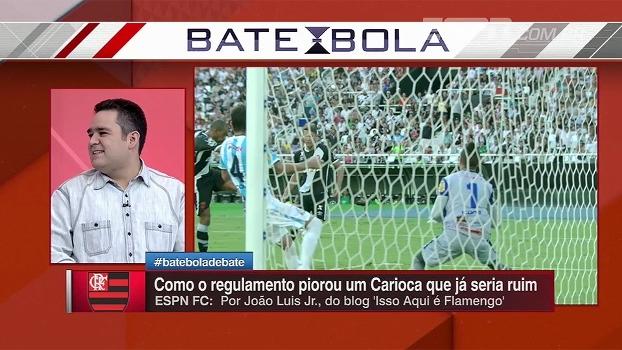 Bertozzi analisa regulamento bizarro do Carioca e diz que regras lembram o 'Passa ou Repassa'