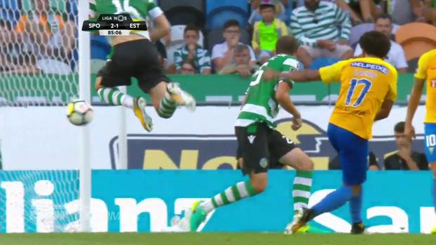 Ex-São Paulo, Lucas Evangelista faz belo gol, mas Sporting vence Estoril pelo Português