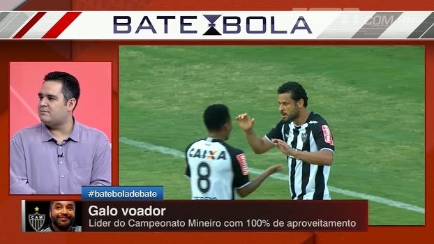 Bertozzi elogia 100% de Atlético-MG no mineiro e analisa evolução da equipe
