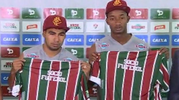 Apresentados no Fluminense, Sornoza e Orejuela se dizem motivados e orgulhosos