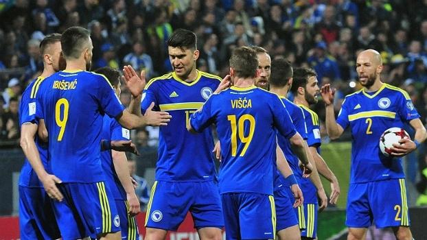 Com muita facilidade, Bósnia faz 5 a 0 sobre Gibraltar