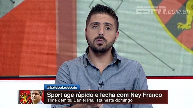 Nicola questiona contratação de Ney Franco: 'Já viveu momentos melhores'
