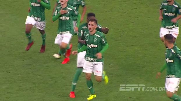 Assista aos melhores momentos da vitória do Palmeiras sobre o Corinthians por 1 a 0!