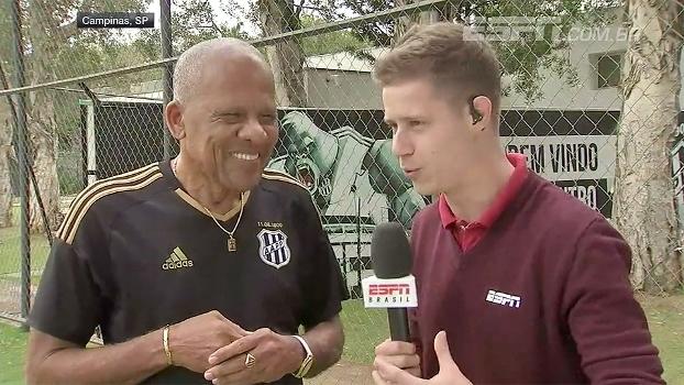 Dadá pede gol a Pottker e aposta em vitória da Ponte sobre o Palmeiras no Allianz Parque