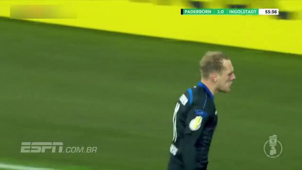 Assista ao gol da vitória do Paderborn sobre o Ingolstadt por 1 a 0!