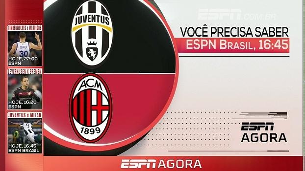 Clássico italiano, NBA e mais; tudo da programação da ESPN nesta sexta-feira