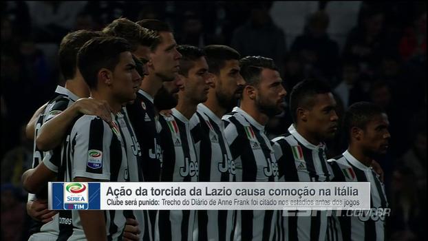 Após ações antissemitas de torcedores da Lazio, Juventus e SPAL fazem homenagem a Anne Frank