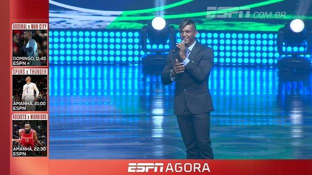 Em noite de premiações e pedido de casamento, Isaquias Queiroz e Rafaela Silva são eleitos os melhores atletas do ano