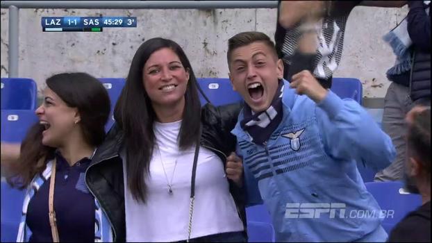 Lazio começa mal o jogo, sofre gol, mas vira a partida e massacra o Sassuolo; veja os gols