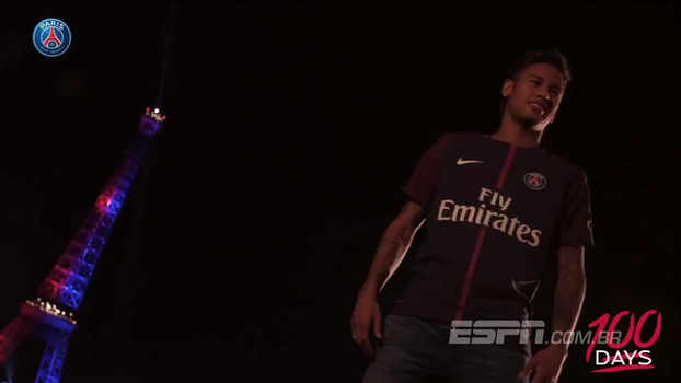 Abertura do Sportscenter relembra os 100 dias de Neymar no PSG