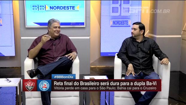 Bate Bola Nordeste analisa jogo quente entre Cruzeiro e Bahia
