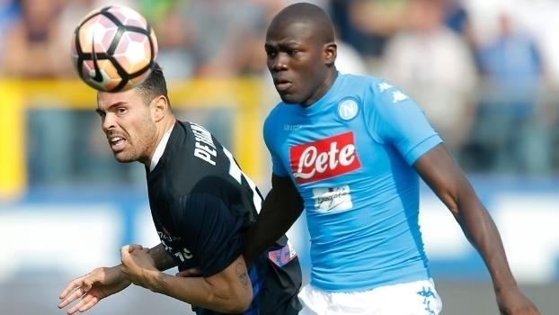 Italiano: Gol de Atalanta 1 x 0 Napoli